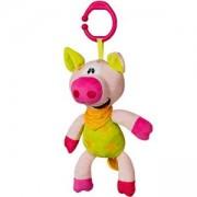Бебешка плюшена, музикална играчка - прасе, 1349 BabyOno, 9070177