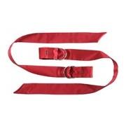 Boa laços de seda vermelho - Lelo