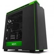Carcasa NZXT H440 New Edition Black Green Window
