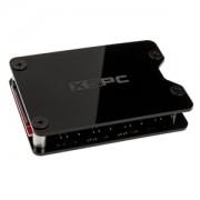 Splitter hub adresabil RGB XSPC 8 porturi, 3-pini 5V, alimentare SATA, culoare neagra
