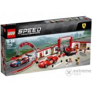 LEGO® Speed Champions Exkluzív Ferrari garaža 75889