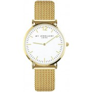 My Jewellery Uhr Medium Mesh Watch Gold Damen