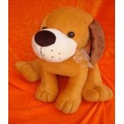 Cute Stuffed Brown Rocky Dog Plush Animal Soft Toy