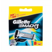 Gillette Mach3 8Pc Per Uomo (Replacement Blade)