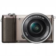 Sony ILCE5100LT.CEC kere + 16-50mm lens Mirrorless kaamera Kit, 24.3 MP, ISO 25600