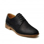 Croft Lee Shoes Black FLP624