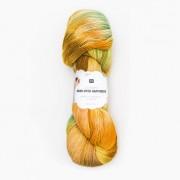 Rico Design Luxury Hand-Dyed Happiness dk von Rico Design, Gelb-Grün