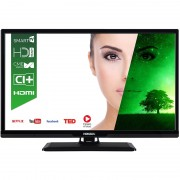 Televizor Smart LED Horizon 61 cm HD Ready 24HL7110H, WiFi, USB, CI+, Black