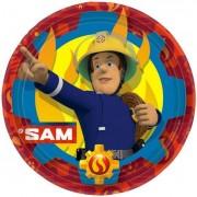 Bordjes Brandweerman Sam