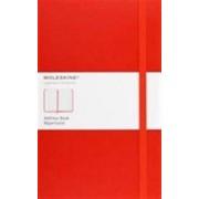 Moleskine Classic Desk Address Book, Large, Red, Hard Cover (5 X 8.25)