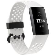 Fitbit Charge 3, Frost White Sport / Graphite Aluminium