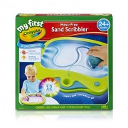 My First Crayola Mess-Free Sand Scribbler, Art Activity, No Mess, Perfect Gift for Preschoolers