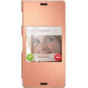 Sony SCR24 Style Up Cover for Xperia Z3 - Copper