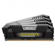 Memorie Corsair Vengeance Pro 32GB (4x8GB) DDR3 PC3-12800 CL9 1.5V 1600MHz Dual / Quad Channel Kit, Black/Silver, CMD32GX3M4A1600C9