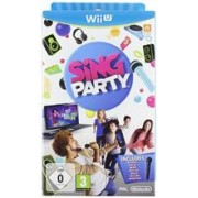 Sing Party With Wired Microphone Nintendo Wii U