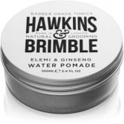 Hawkins & Brimble Natural Grooming Elemi & Ginseng Haarpomade auf Wasserbasis 100 ml
