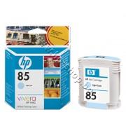 Мастило HP 85, Light Cyan (69 ml), p/n C9428A - Оригинален HP консуматив - касета с мастило
