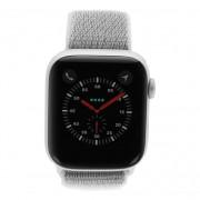 Apple Watch Series 4 Nike+ - caja de aluminio en plata 44mm - correa Loop deportiva blanca (GPS+Cellular) refurbished