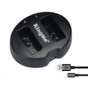 Kingma 2-Bateria cargador USB para Canon LP-E10 EOS 1200D 1100D rebel T5