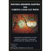 Manava-Dharma-Sastra Cartea Legii lui Manu