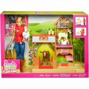 Barbie Veterinar de Ferma GCK86 set de joaca