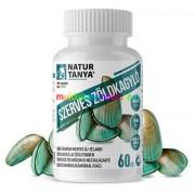 Szerves Új-zélandi Zöldkagyló 60 db kapszula, reuma, ízületi problémák - Natur Tanya