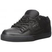 DC Men s Pure SE Skate Shoe Black/Black 8 D(M) US