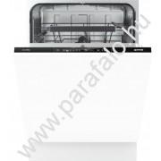 GORENJE GV 64160 Teljesen beépíthetõ mosogatógép