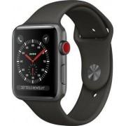 Apple Watch Series 3 42 mm Aluminium GPS grau Sportarmband grau