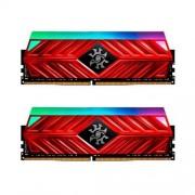16GB DDR4-3000MHz ADATA XPG D41 RGB CL16, 2x8GB red