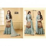 Digital Printed Dress material with stitched Garara Buy Garara Suits online