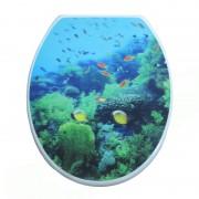 Wc daska akvarijum sa 3D slikom 789
