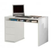 Basika Bureau 3 tiroirs Moneta Basika Blanc