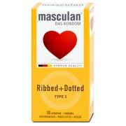 Masculan kondomi rebrasti i ta?kasti veliko pakovanje od 10kom