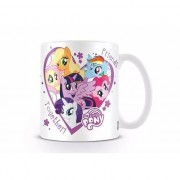 Merkloos Bekers My little pony vrienden