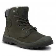 Туристически oбувки PALLADIUM - Pampa Sport Wps 72992-309-M Olive Night