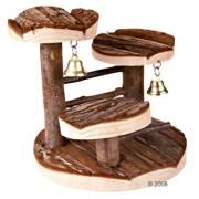 Dřevěný strom pro křečky - D 15 x Š 14 x V 14 cm