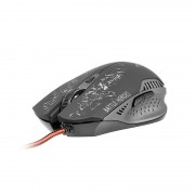 Mouse Tracer Battle Heroes Gunner USB Black