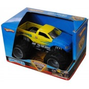 "Hot Wheels Monster Jam 1:24 Scale Die Cast Official Monster Truck 2008 Series Shattered With Monster Tires,Working Suspension And 4 Wheel Steering (Dimension : 7"" L X 5 1/2"" W X 4 1/2"" H)"