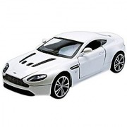 Motormax 1:24 Aston Martin V12 Vantage Vehicle Black