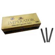 Tuburi tigari Imperator Negru carbon filter