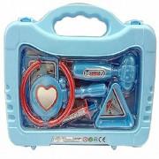 ToyKart DOCTOR SET Doctor Nurse family oprated Set Medical SuitcaseToy For Kids (blue)