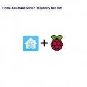 Home Assistant Server Raspberry bez HW