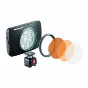 Luz Led de cámara Manfrotto Lumimuse 8 - negro