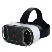 Gafas de casco de video 3D Reality VR 3D - Negro + Blanco
