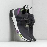 adidas NMD Racer Primeknit Carbon/ Core Black/ Solar Yellow