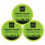 D:fi Extreme Hold Styling Cream 75g 3-pack