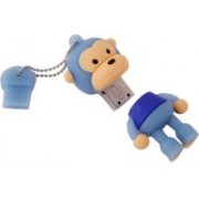 Yes Celebration Blue Monkey 8 GB Pen Drive(Blue)