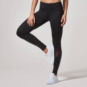 Myprotein Heartbeat Full-Length Leggings - M - Black