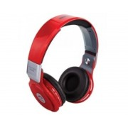 Woo Auriculares reproductor mp3 woo ps400b/ bluetooth/ microfono/ fm / micro sd / manos libres/ rojo